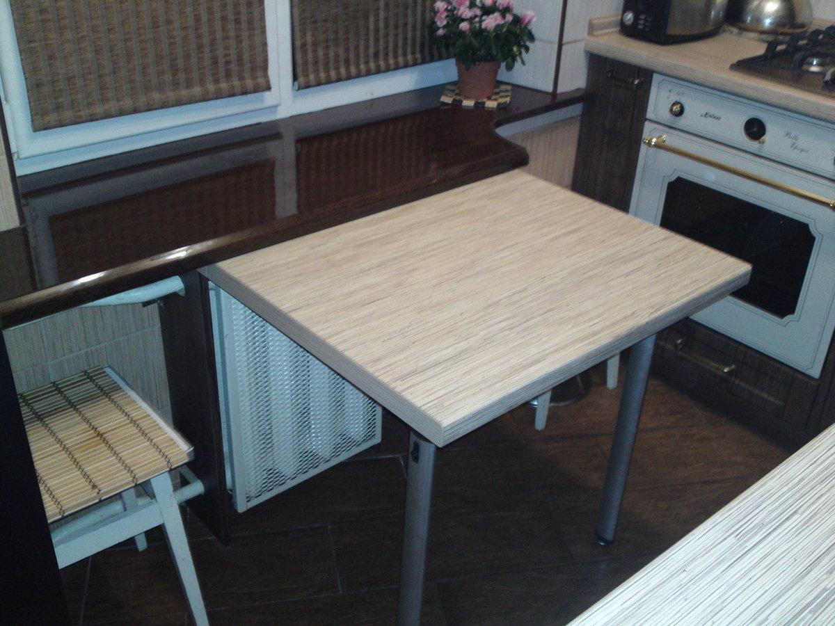 Стол на кухню складной