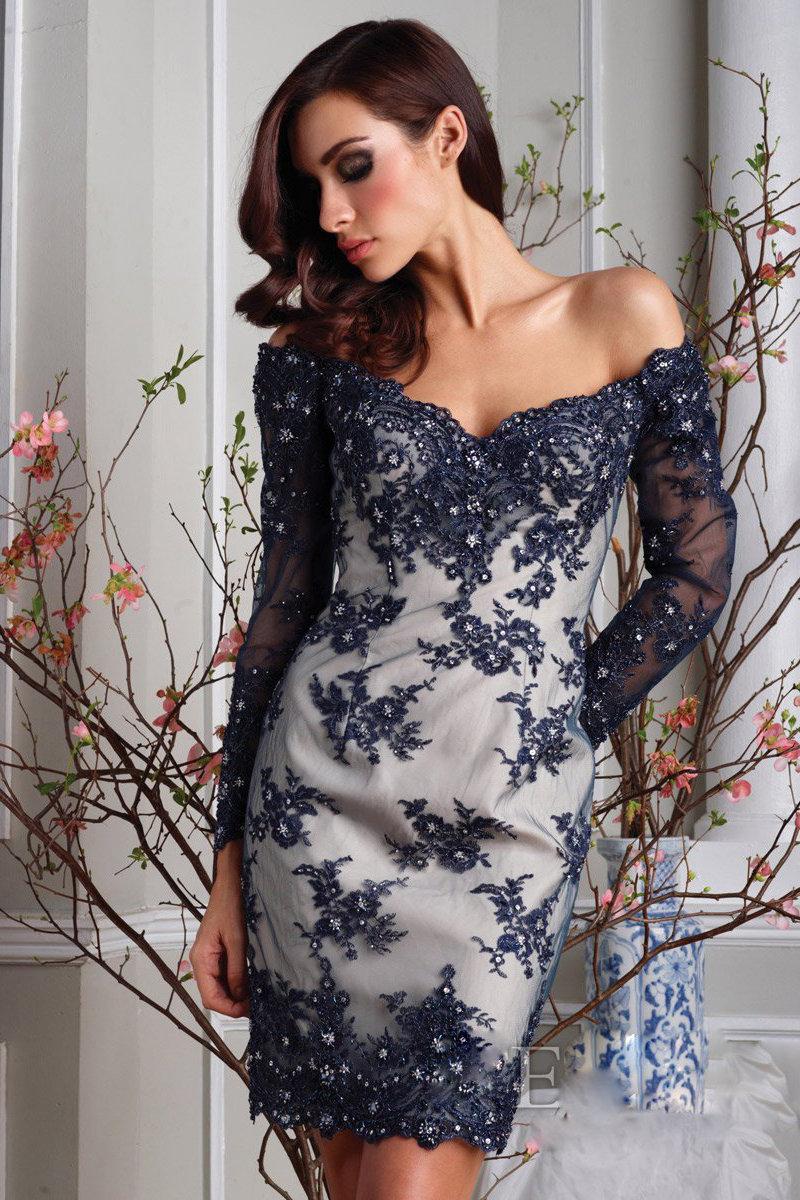 Фото вечерних платьев с кружевом