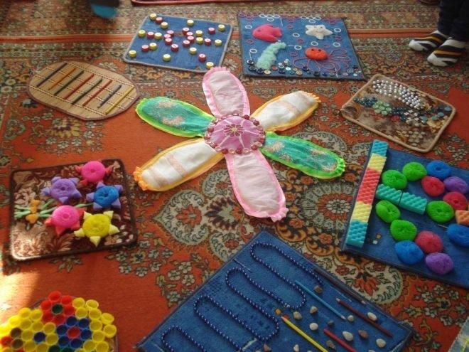 Детский массажный коврик для стоп своими руками 97