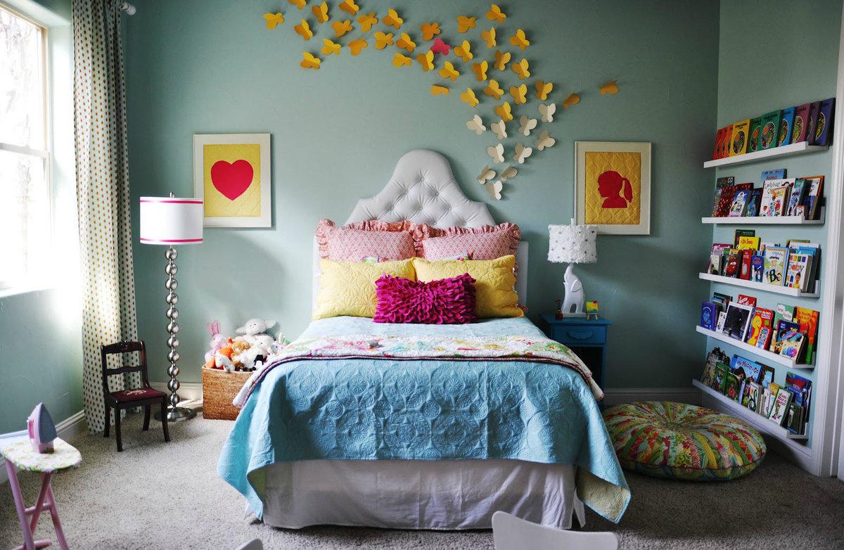 Декор комнаты девочки своими руками 53
