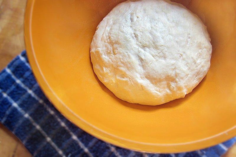 Тесто без дрожжей и яиц рецепт