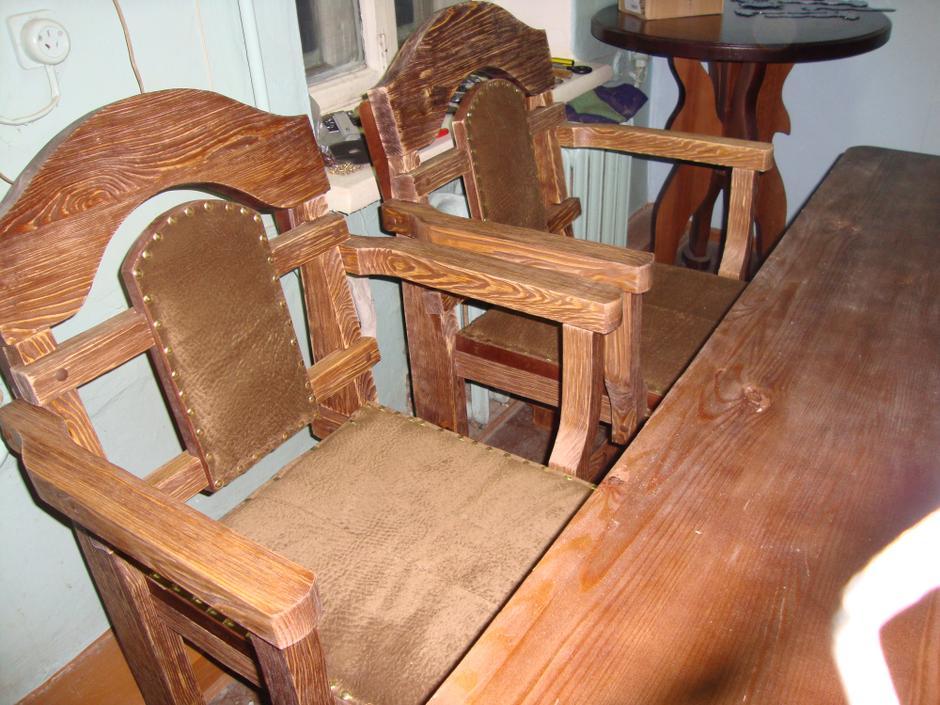 Мебель под старину из дерева своими руками  811