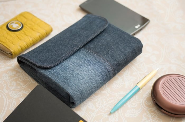 Клатч из джинсы своими руками мастер класс