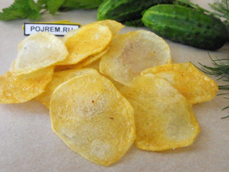 Как сделать домашние чипсы с фото 125