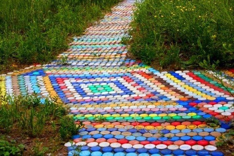 Коврик из крышек от пластиковых бутылок своими руками фото 296