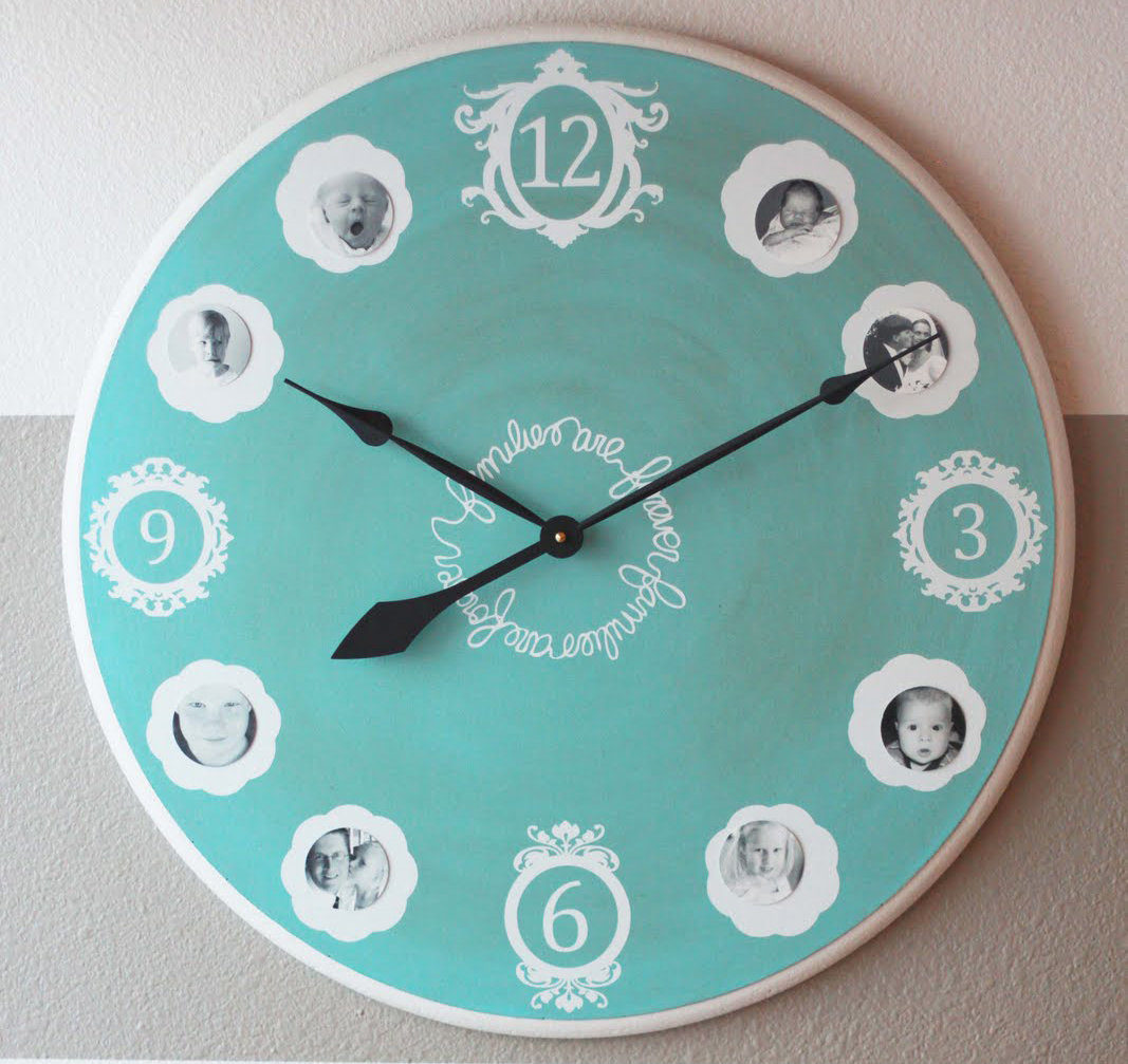 Шикарные часы своими руками