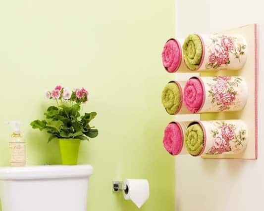 Декорирование ванной комнаты своими руками фото 66