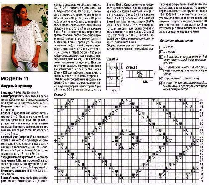 Женское вязание спицами модели и схемы 35