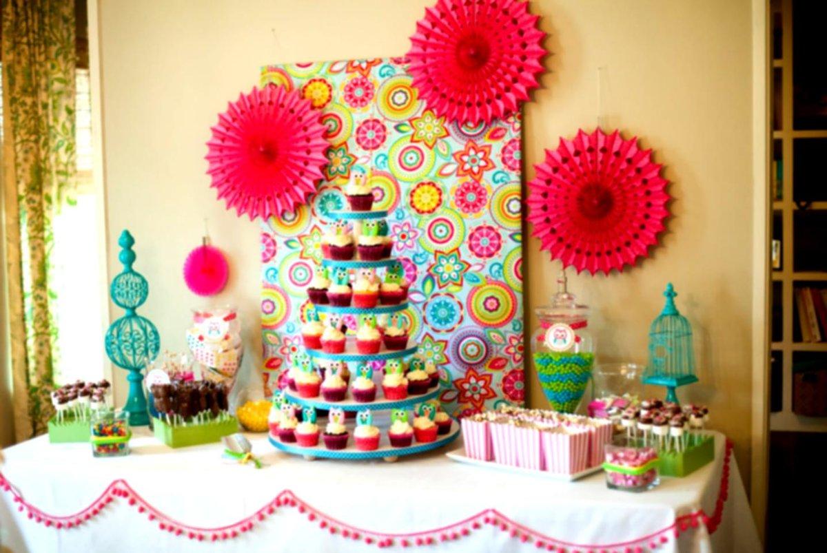 Украшения своими руками комнаты на детский день рождения 11