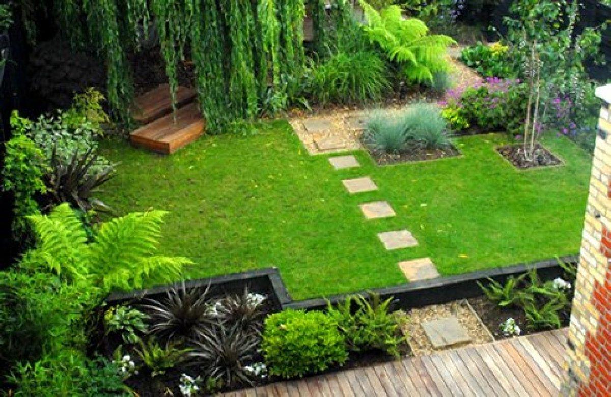 Ландшафт для сада и огорода своими руками 9