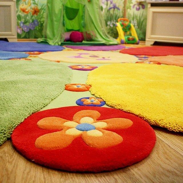 Ковёр в детскую комнату для девочек своими руками 53