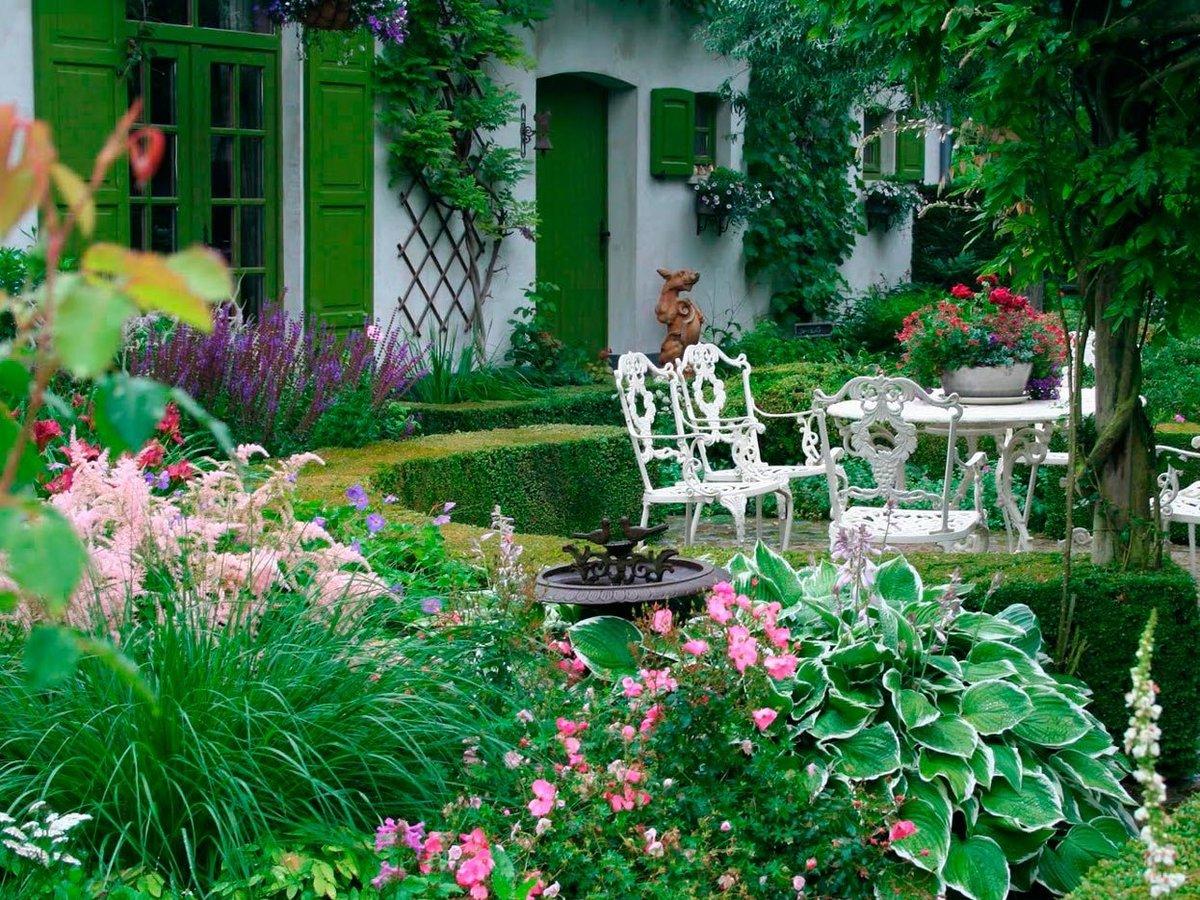Дизайн моего двора и сада своими руками фото