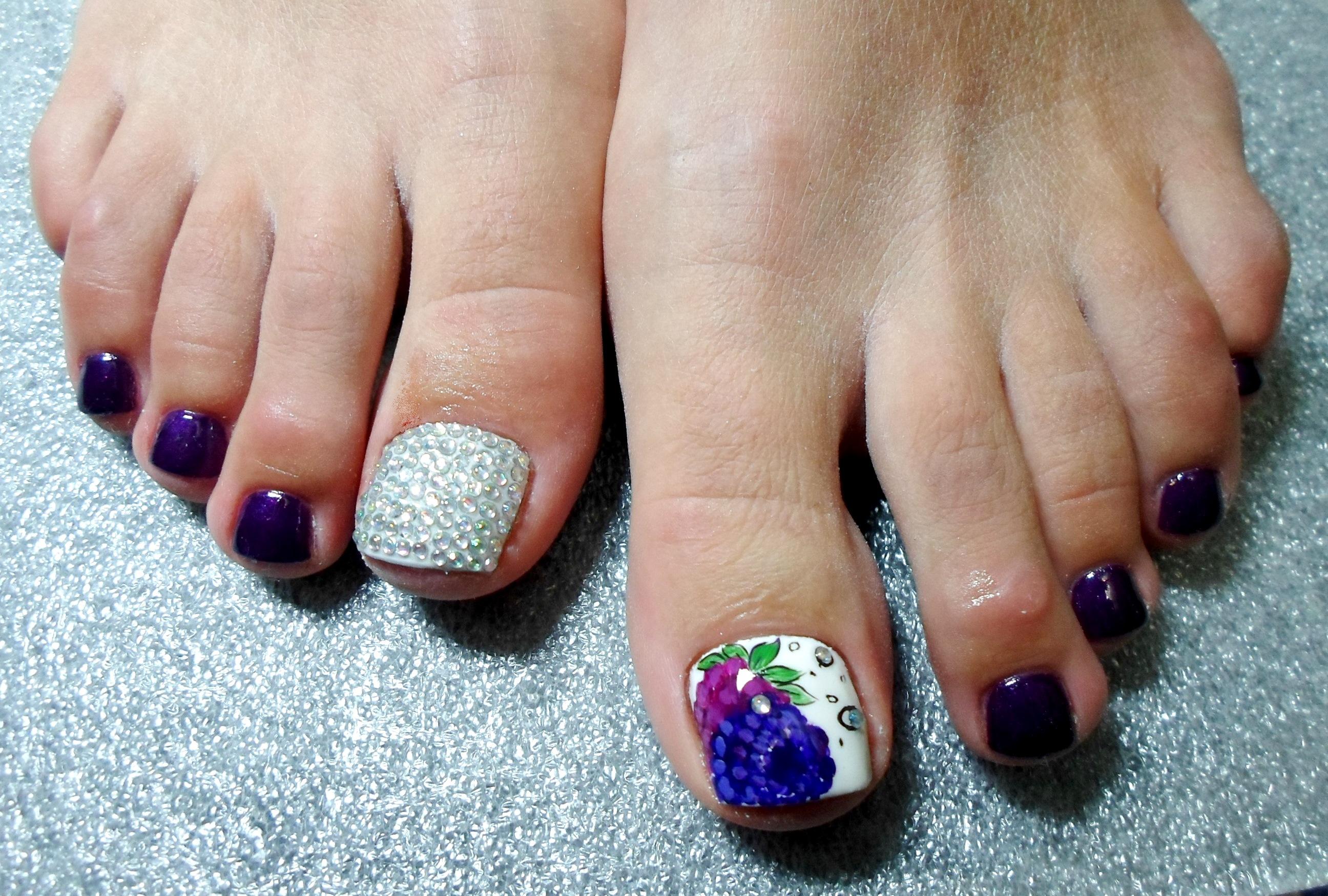 Гель лак фото ногтей дизайн педикюра