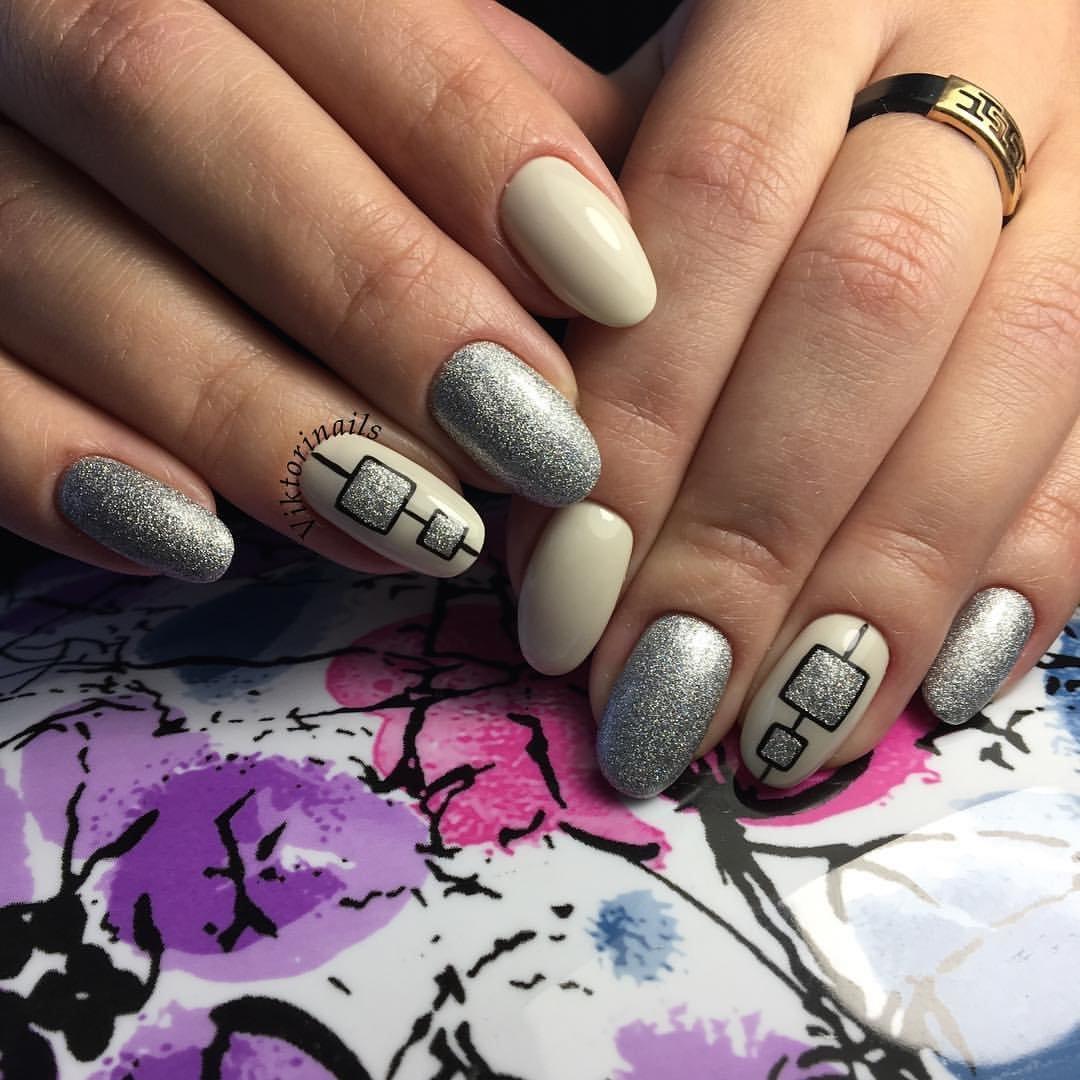 Фото дизайна ногтей втирки