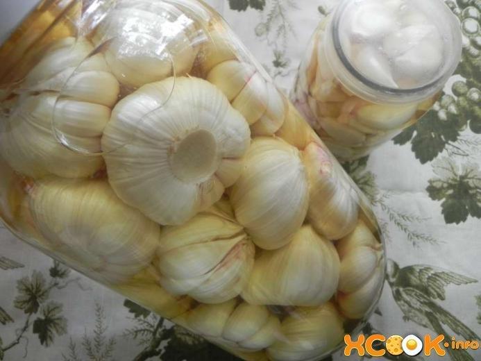 Мариновать чеснок рецепт пошагово с в