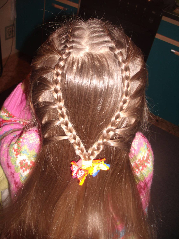 Фото причёсок на средние волосы с чёлкой для детей