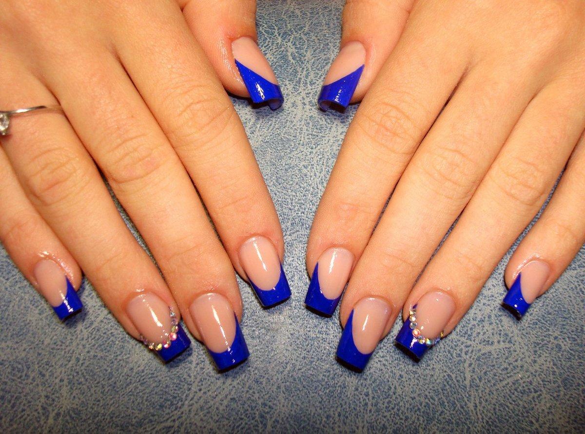 Новые фото на нарощенных ногтях
