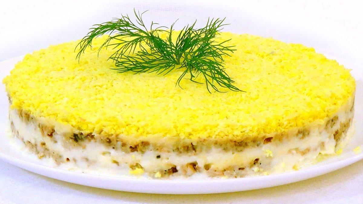 Салат мимоза рецепт с яблоком рецепт пошаговый