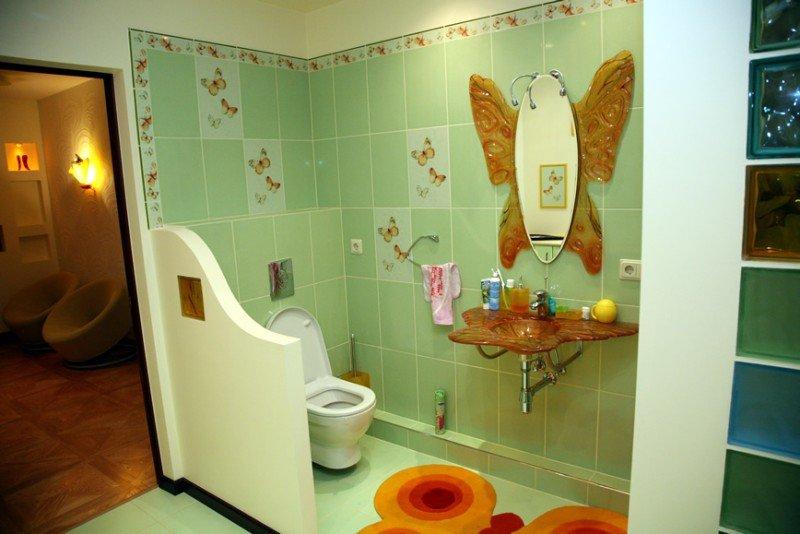 Декорирование ванной комнаты своими руками фото 69