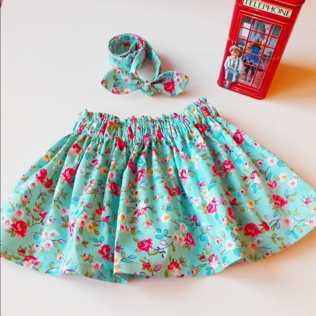 Как сшить юбку на резинке для девочки своими руками фото 72