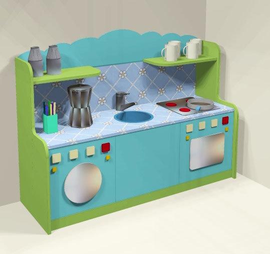 Детская кухня для детского сада своими руками 96