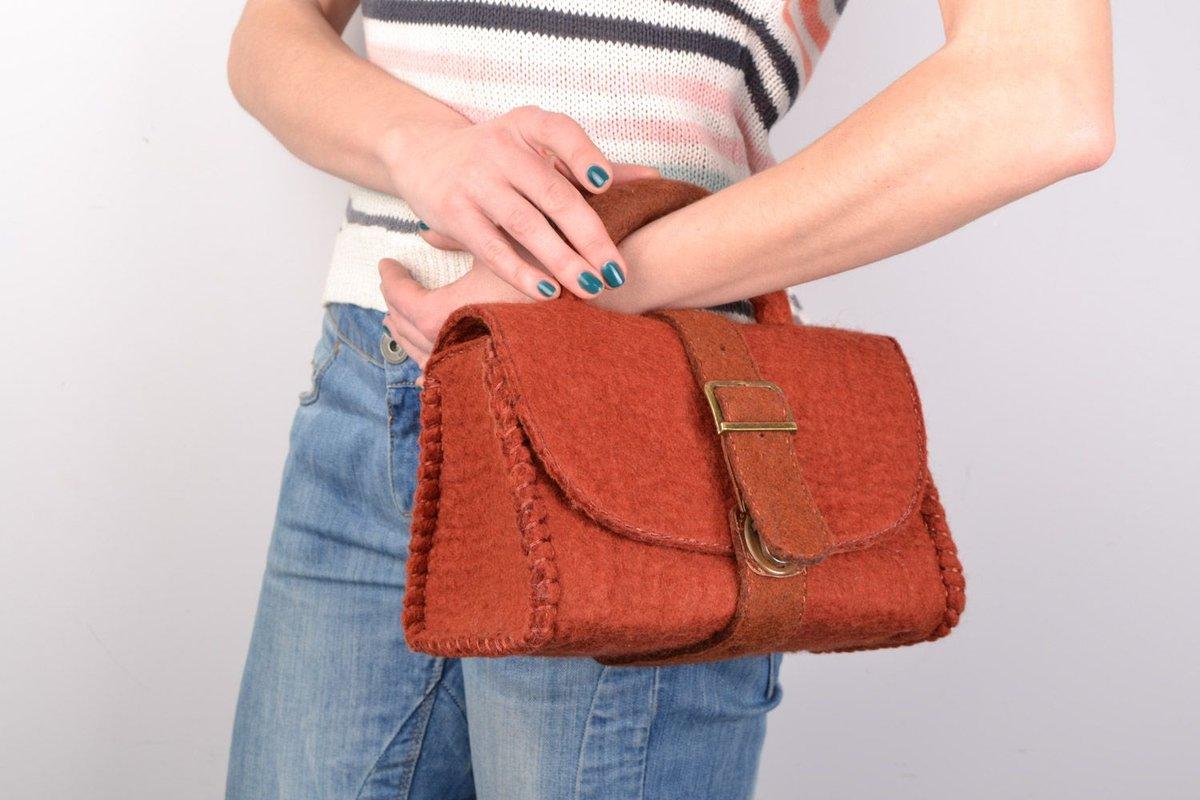 Объемые мини-сумочки