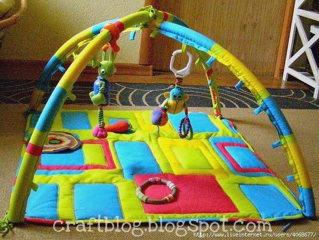 Развивающий коврик для детей своими руками дуги