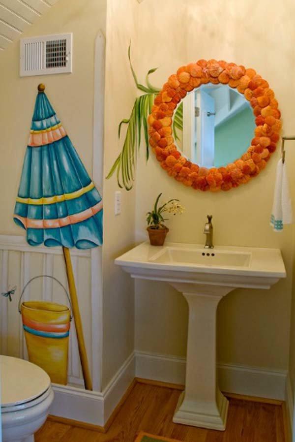 Декорирование ванной комнаты своими руками фото 91