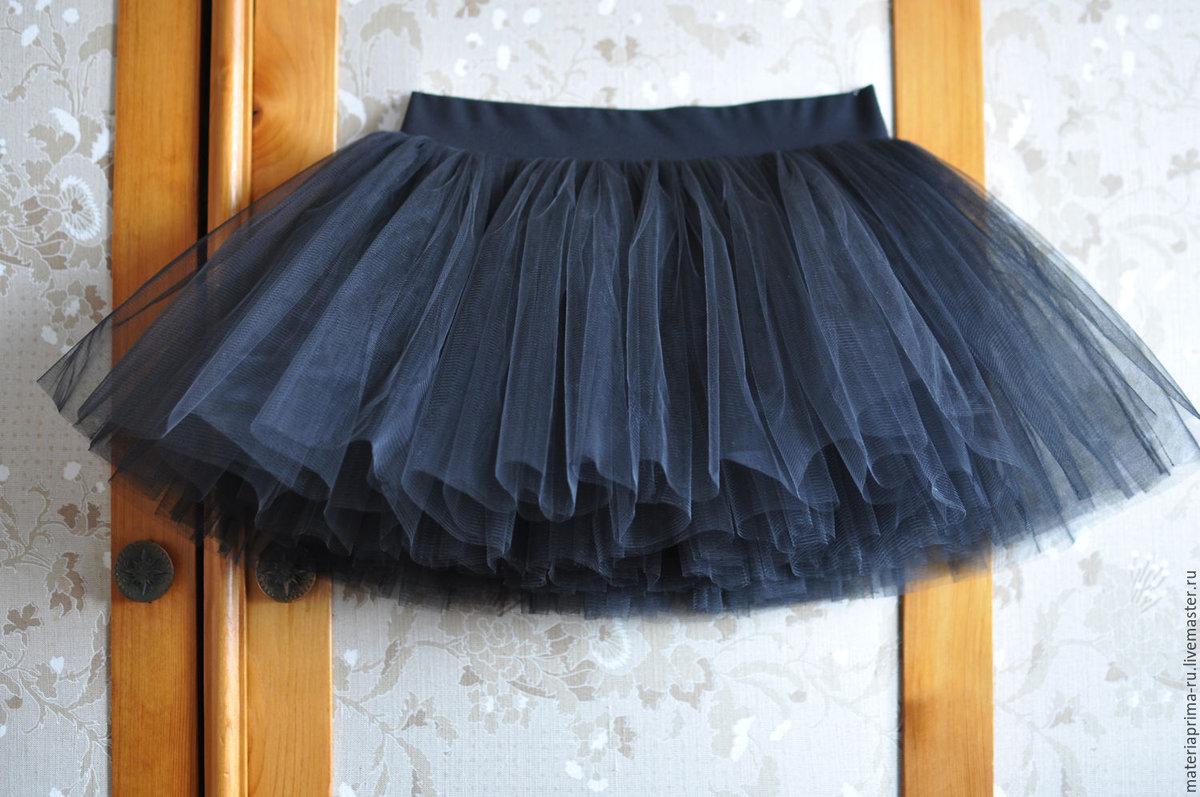 Как сшить очень пышную юбку с фатина