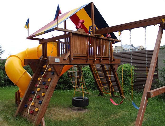 Детская площадка у дома своими руками