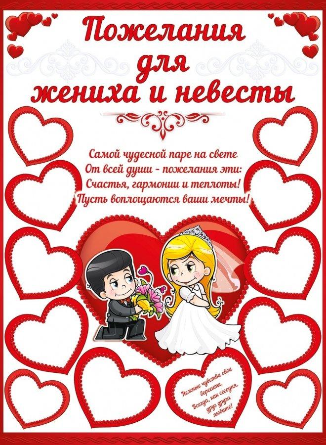 Поздравления для жениха и невесты от родителей проза