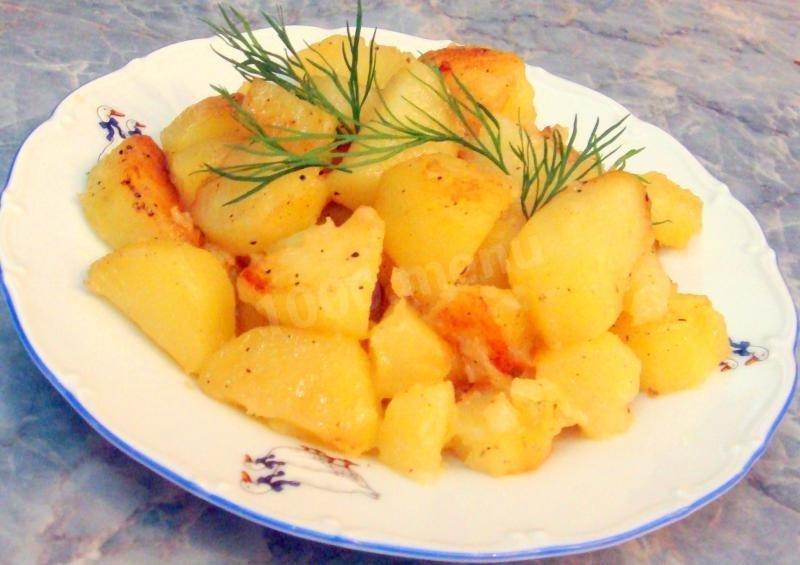 Жареная картошка с в мультиварке рецепты с фото