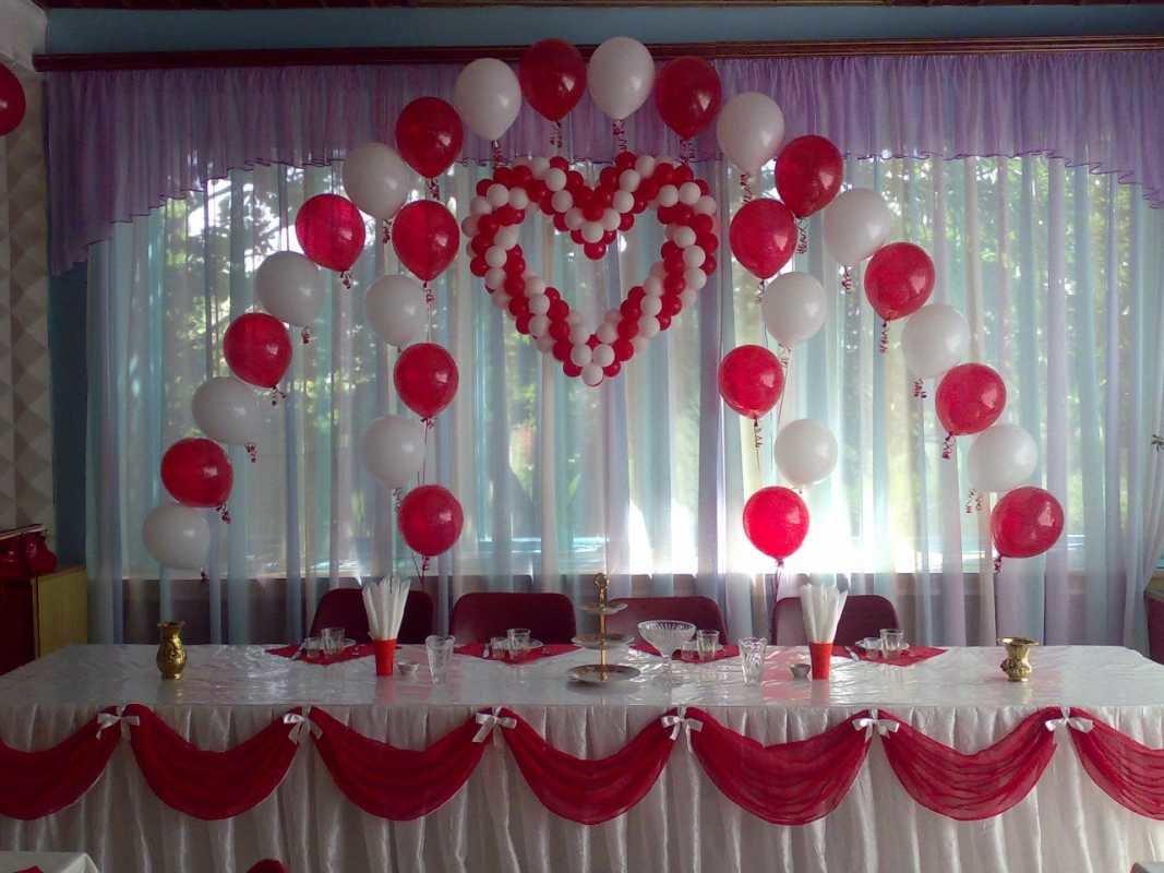Оформляем свадебный зал своими руками