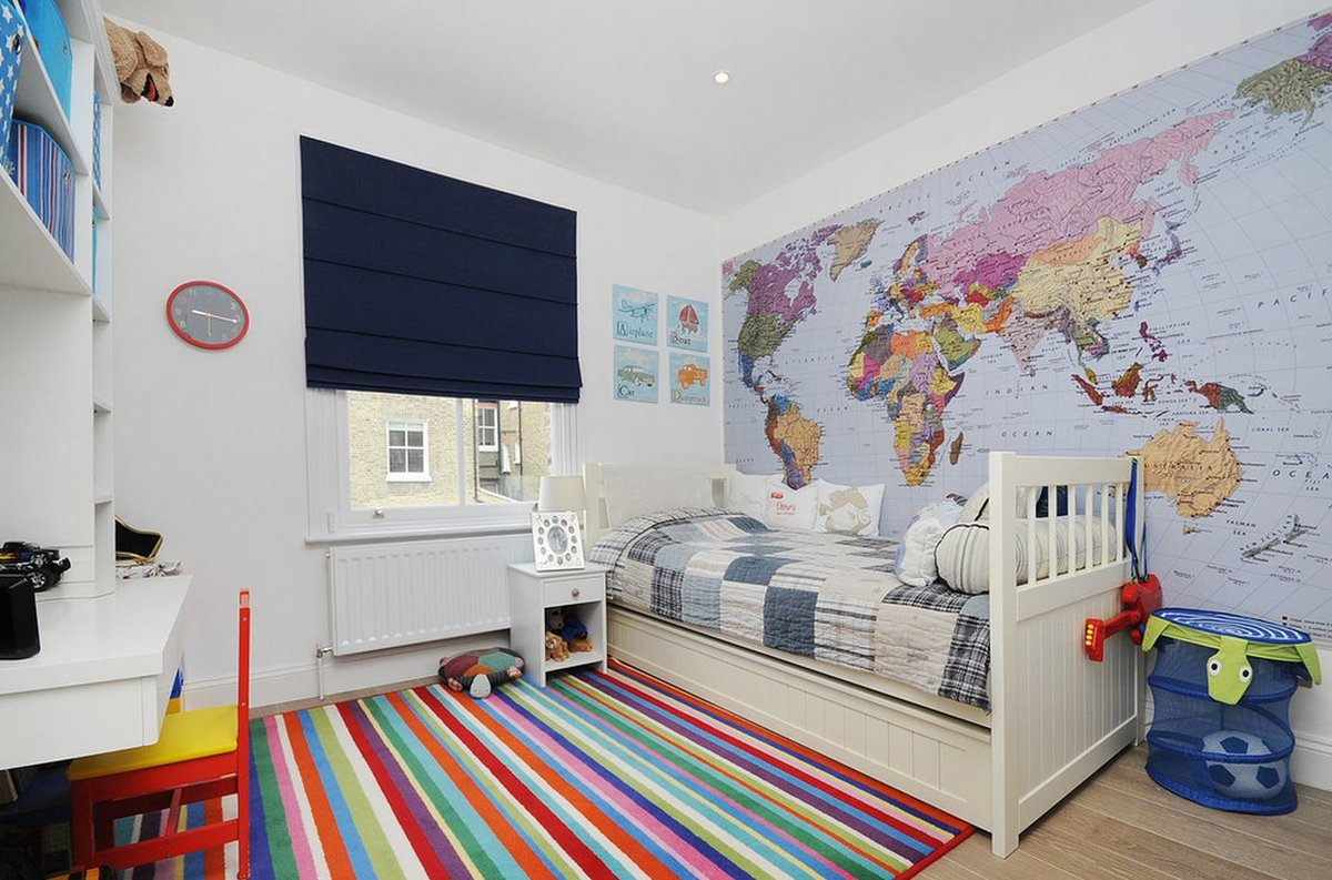 Фотообои для детской комнаты для мальчика дизайн фото