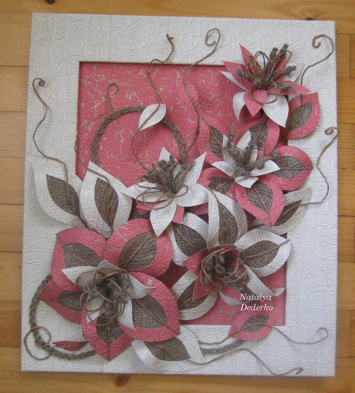 Картины из ткани - пошаговая инструкция для начинающих (80 фото) 89
