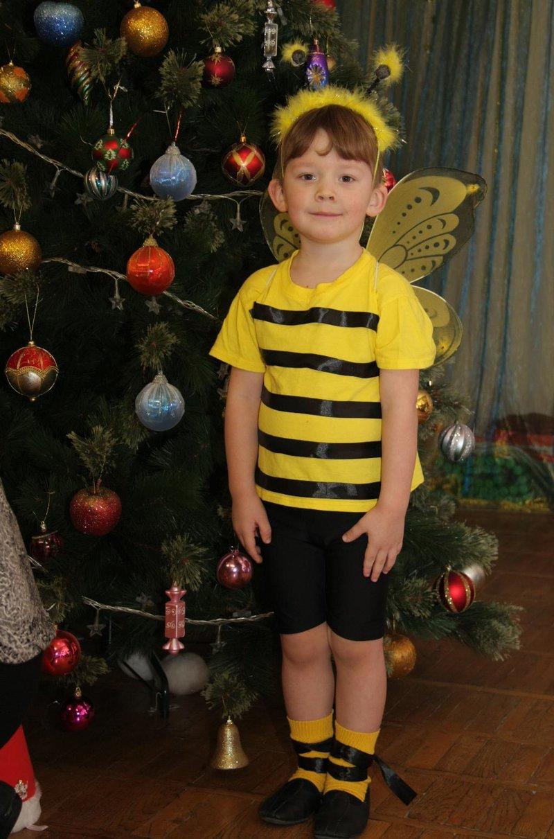 Своими руками костюм пчелка