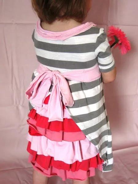 Платье детское своими руками идеи