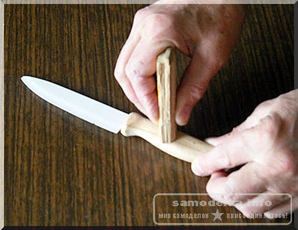 Нож для писем своими руками