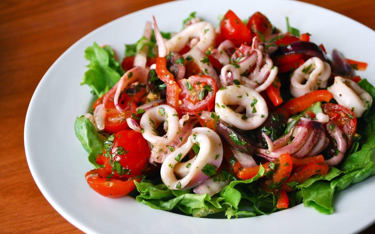 Салат с очищенными креветками рецепты