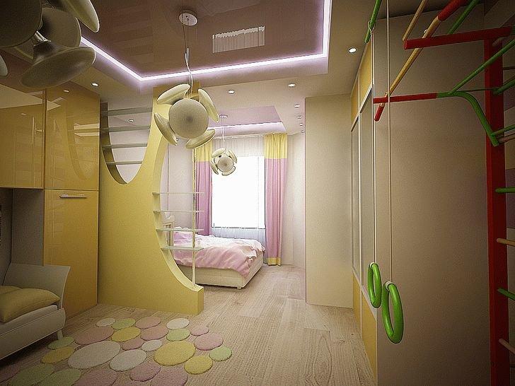 Как сделать из одной комнаты две комнаты для детей