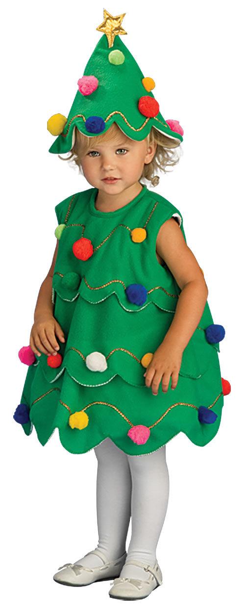 Простые новогодние костюмы для девочек своими руками
