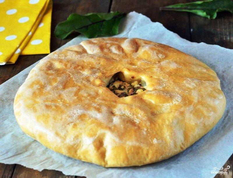 Осетинские пироги с зеленью рецепт с
