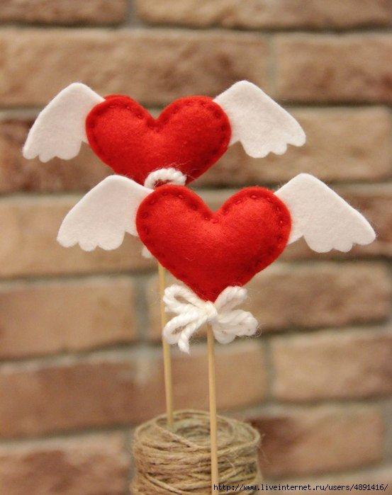 Как сделать сердце к 14 февраля