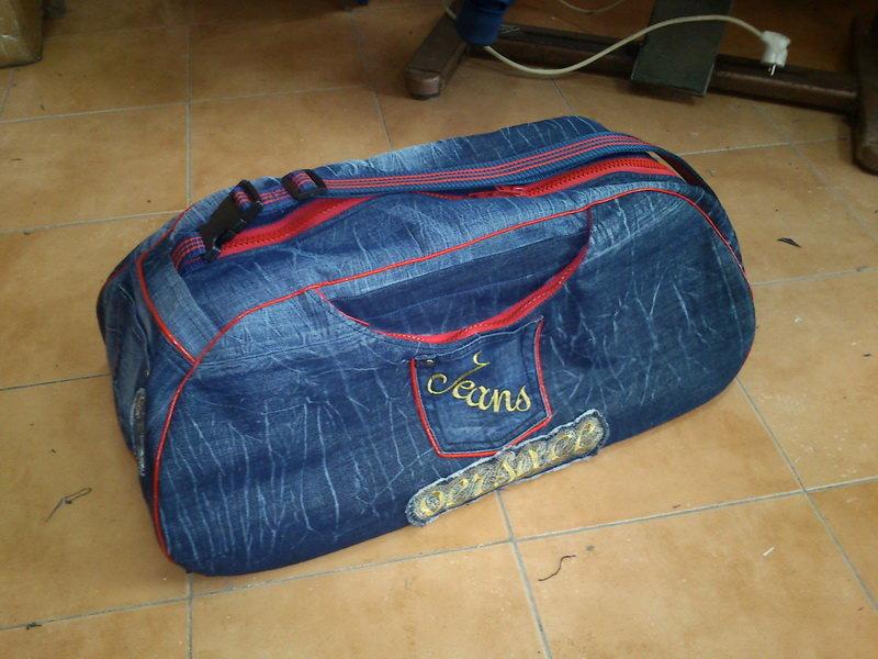 Сшить дорожная сумка 21