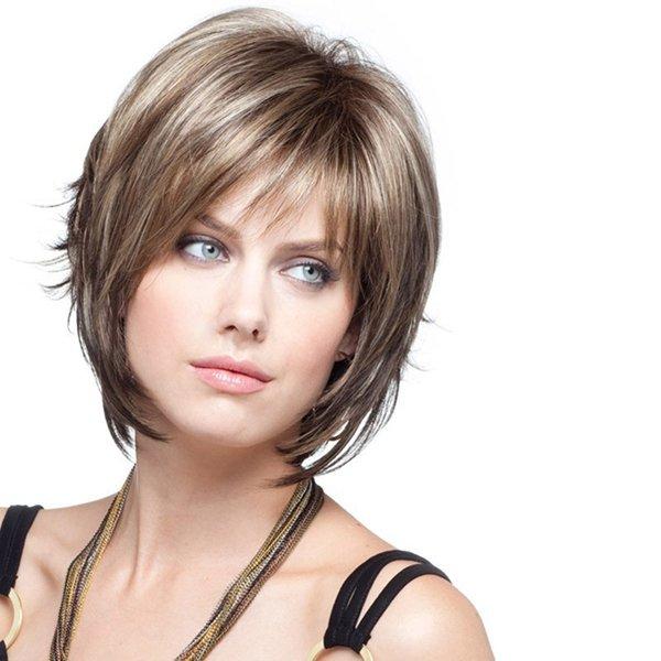 Женские прически средний волос с