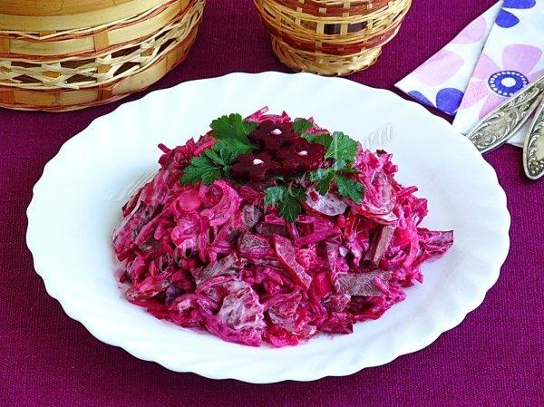 Салаты из сердца говяжьей рецепты с простые и вкусные