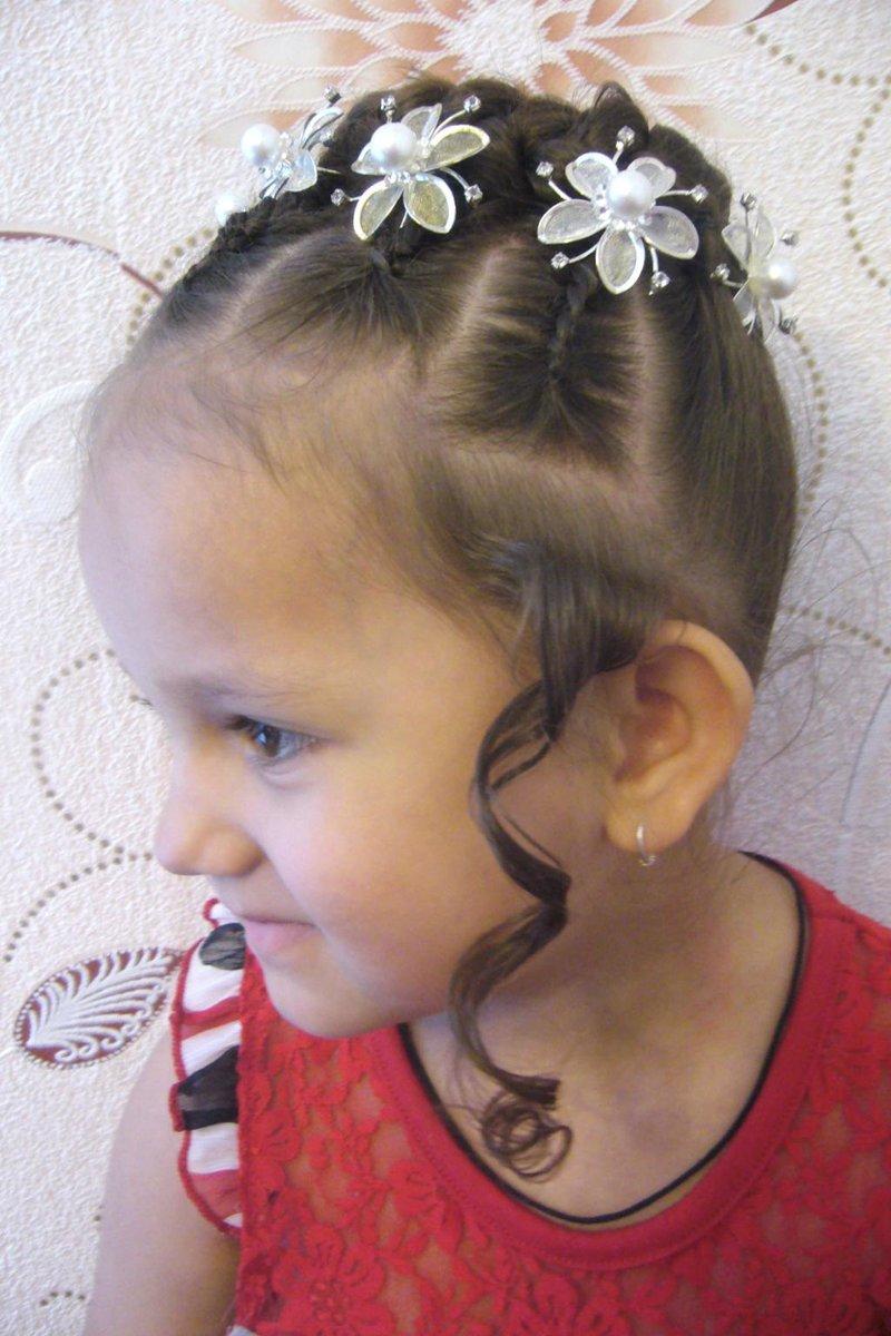 Причёски для принцессы