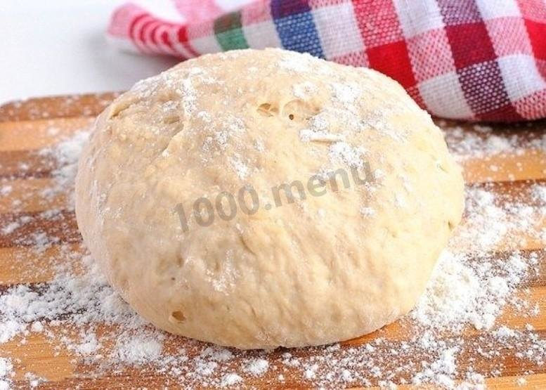 Рецепт теста для пиццы пошагово готовим дома