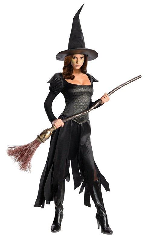 Костюм на хэллоуин для ведьмы своими руками