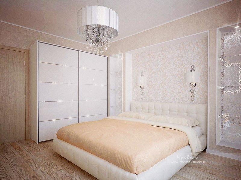 Дизайн комнаты в пастельных тонах